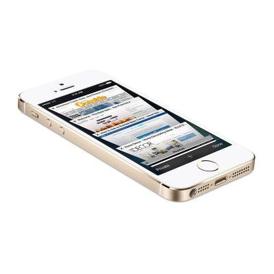 iPhone 5s gold front picture
