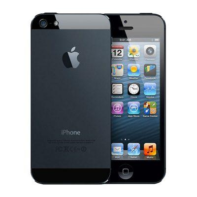iphone 5 back front black