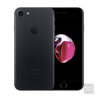 iPhone 7 Black front and back