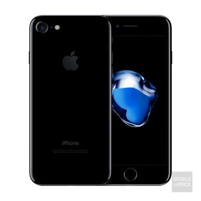iphone 7 jet black front and back