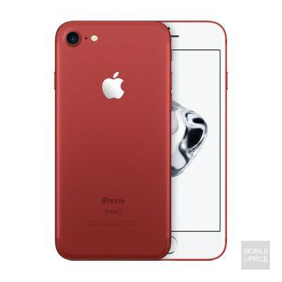 iPhone 7 red front and back
