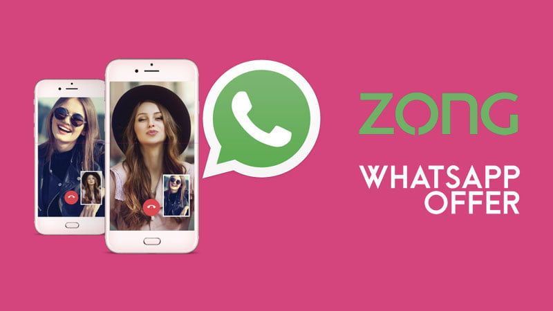 how to subscribe zong whatsapp package free